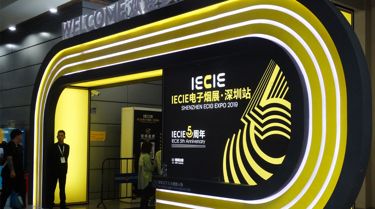 Welcome to the 5th IECIE Shenzhen ECIG Expo 2019