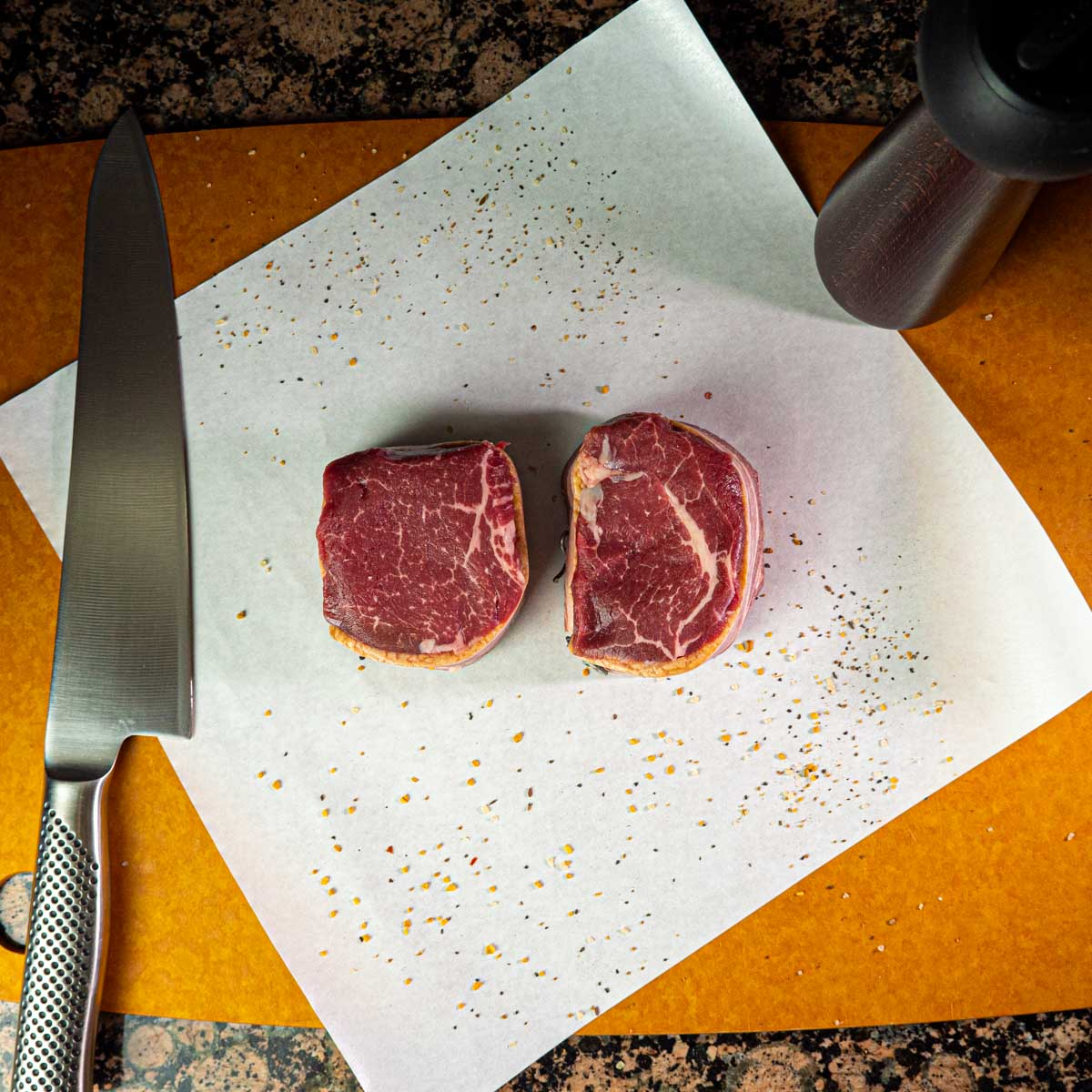 Bacon Wrapped Filet - 2 steak pack