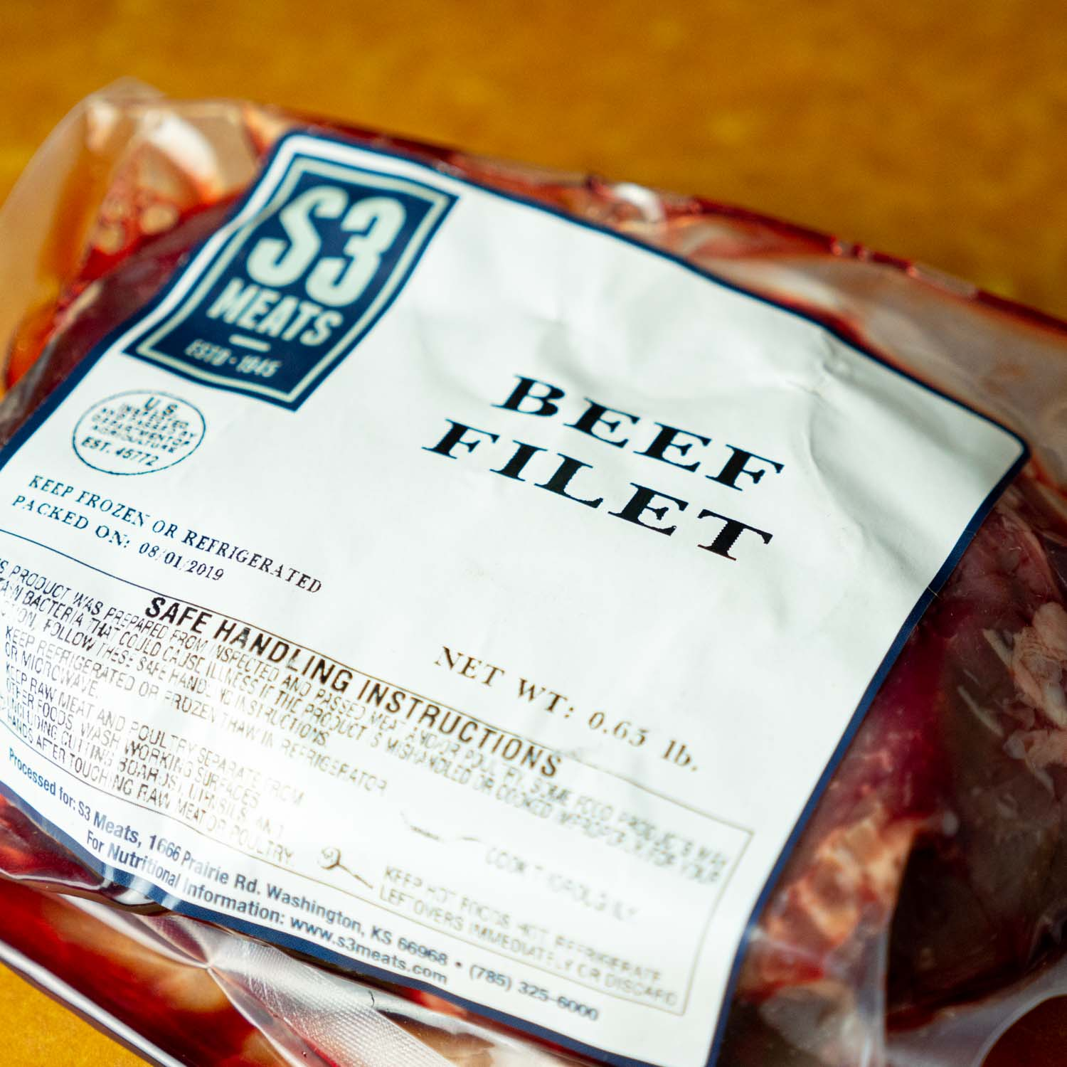 Filet - 2 steak pack
