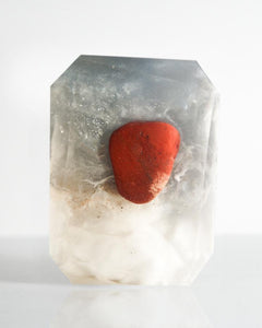 Cancer Crystal Soap - WHYTE QUARTZ