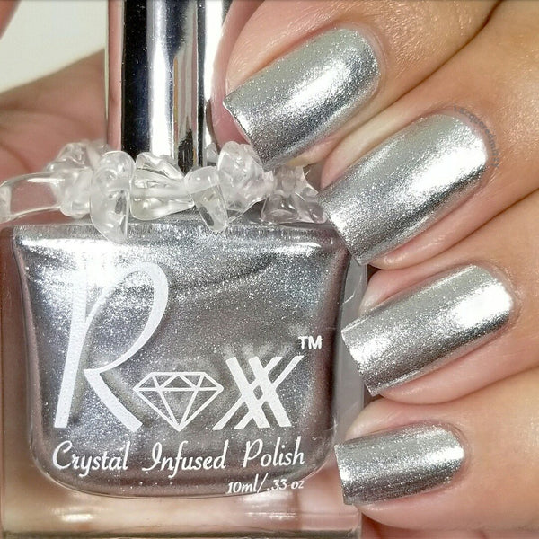 Crystal Infused Nail Polish - WHYTE QUARTZ