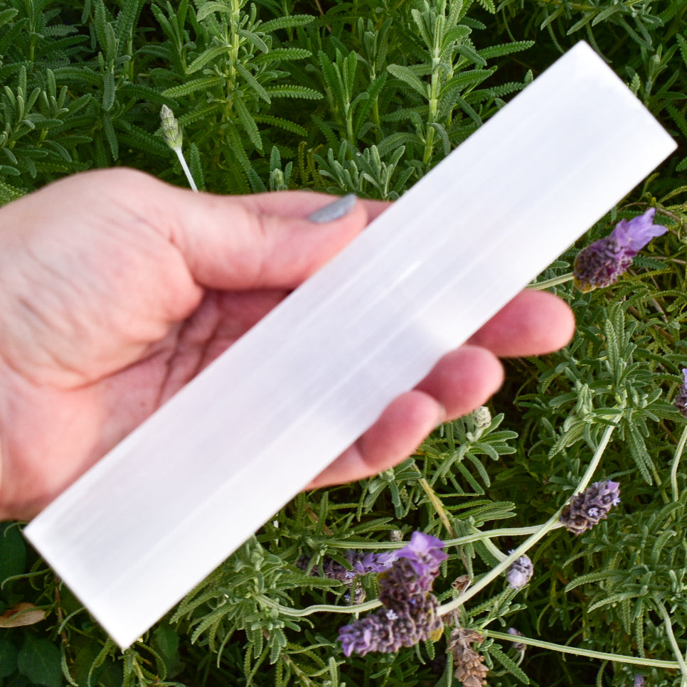 Polished Selenite Bar - WHYTE QUARTZ