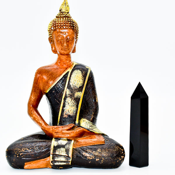 Black Onyx Crystal Point