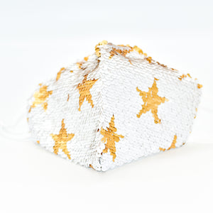 Star Sequined Fashion Mask