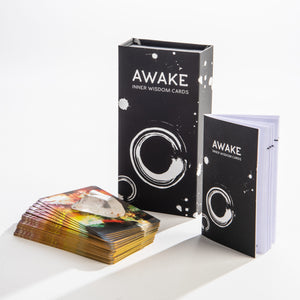 Awake Inner Wisdom Intention Cards - WHYTE QUARTZ