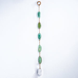 "Green Agate 24"" Wall Hanging"