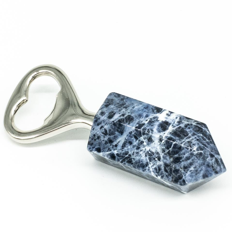 Sodalite Bottle Opener - WHYTE QUARTZ