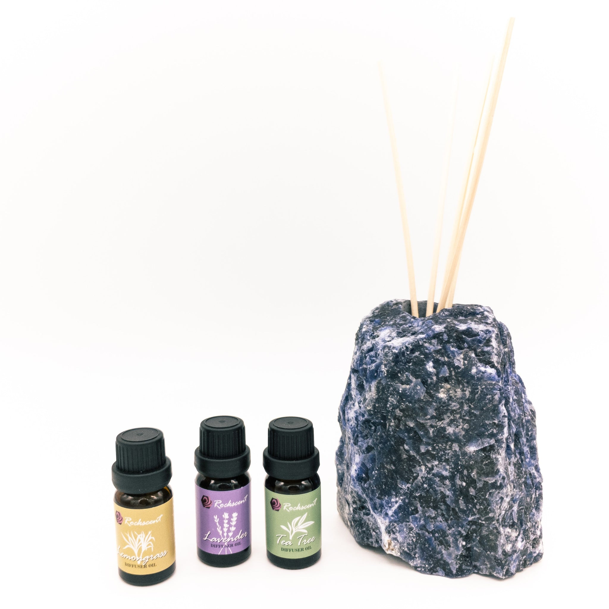 Sodalite Diffuser with Natural Oils Set