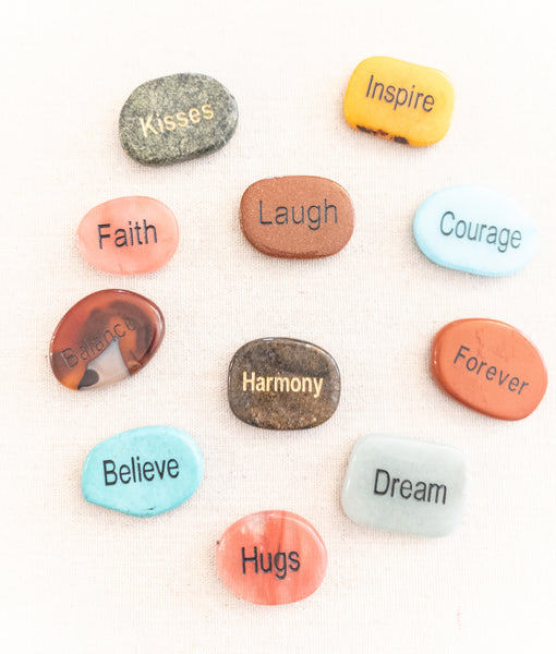 Word Pocket Stones