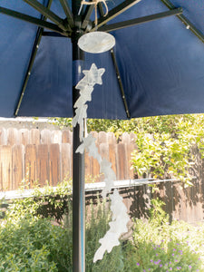 Shooting Stars Handmade White Onyx Windchimes