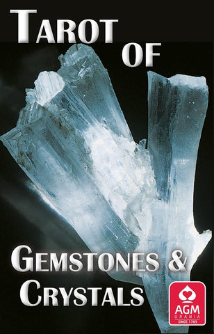 Tarot of Gemstones and Crystals Deck - WHYTE QUARTZ