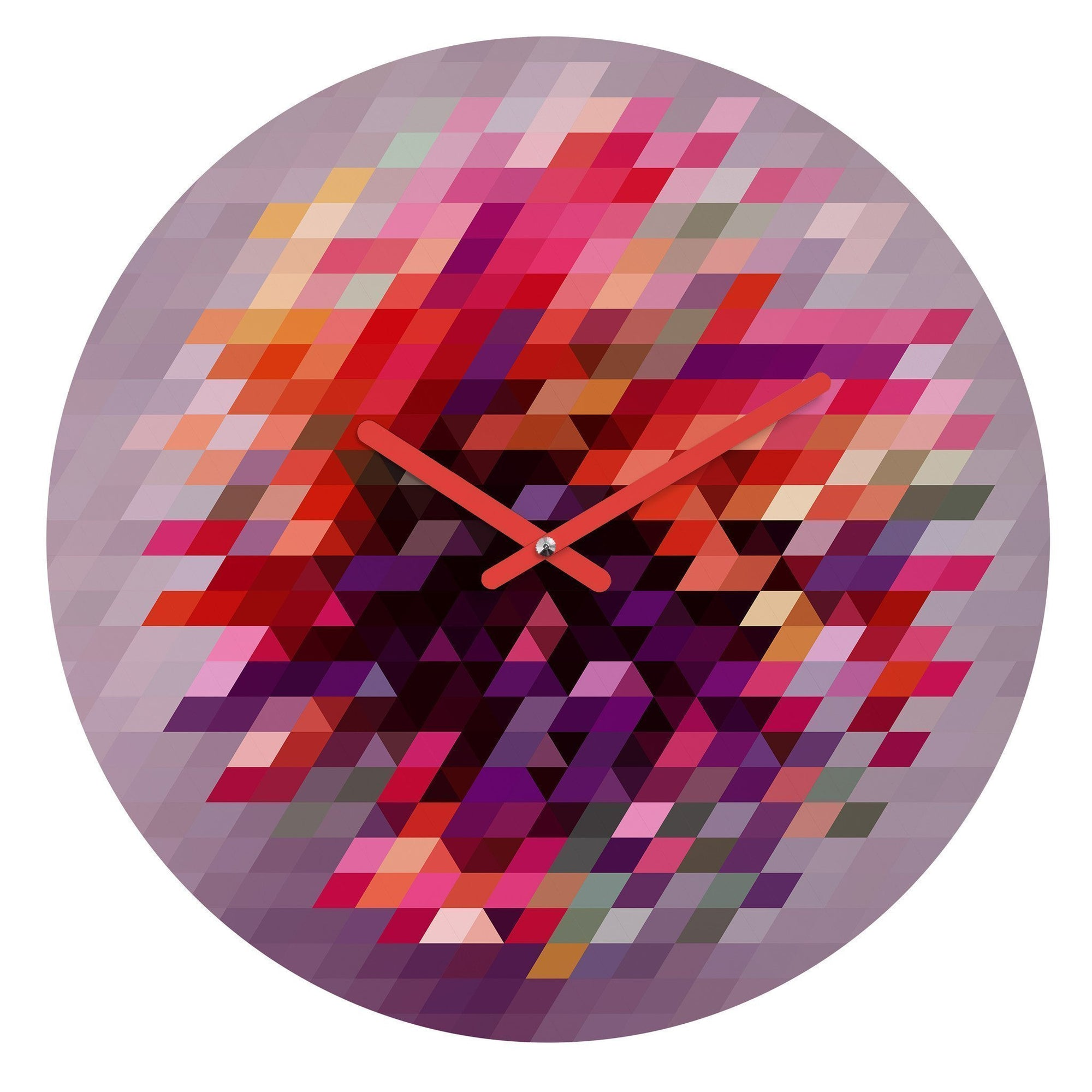 Distortion Wall Clock