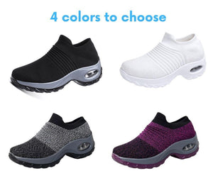 50% OFF TODAY: Women's Breathable Air Cushion Sneakers [BUY 2 FREE SHIPPING]