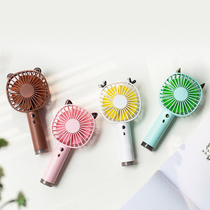 Mini Handheld Fan,Personal Portable Desk Stroller Table Fan Cooling Electric Fan