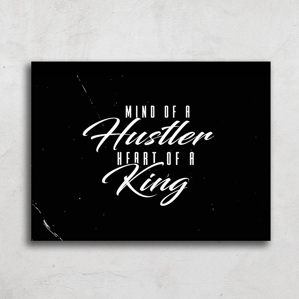 Mind of A Hustler Art Print