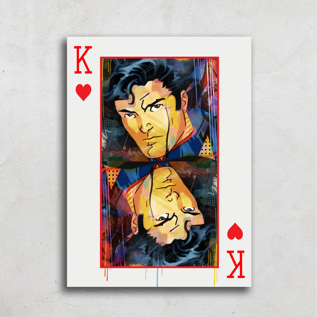 King Card Art Print