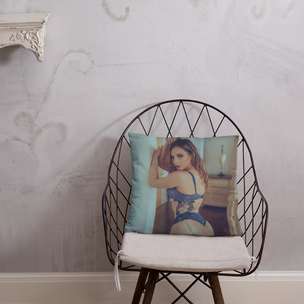 Mary Elizabeth Throw Pillow 3