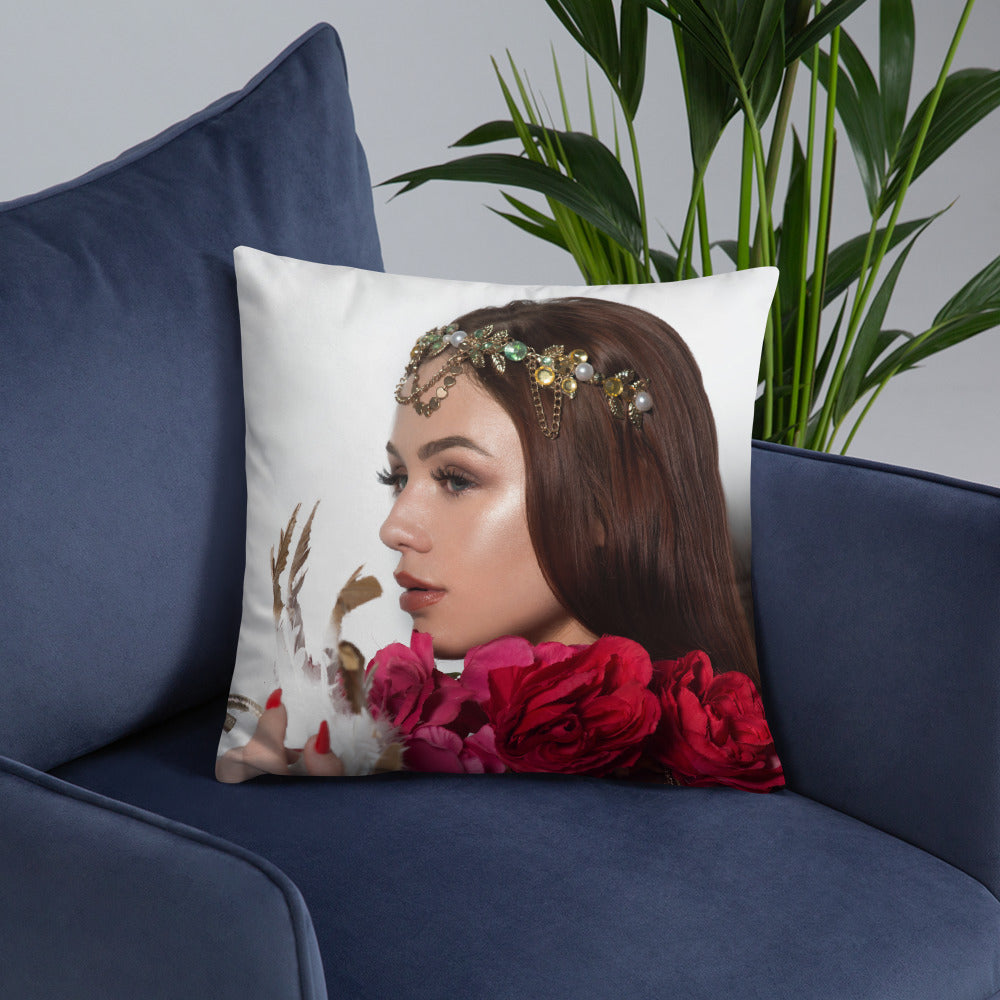 Anna Matthews Throw Pillow 7