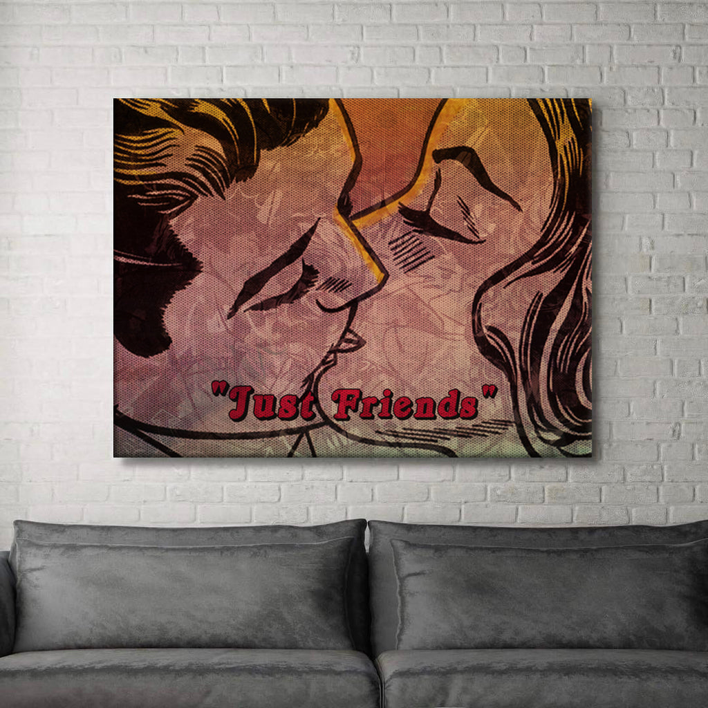 Just Friends Canvas
