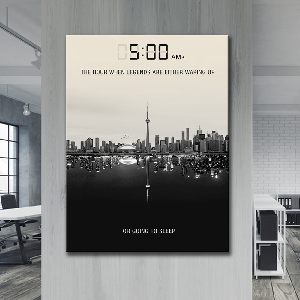 5am Legends Art Print