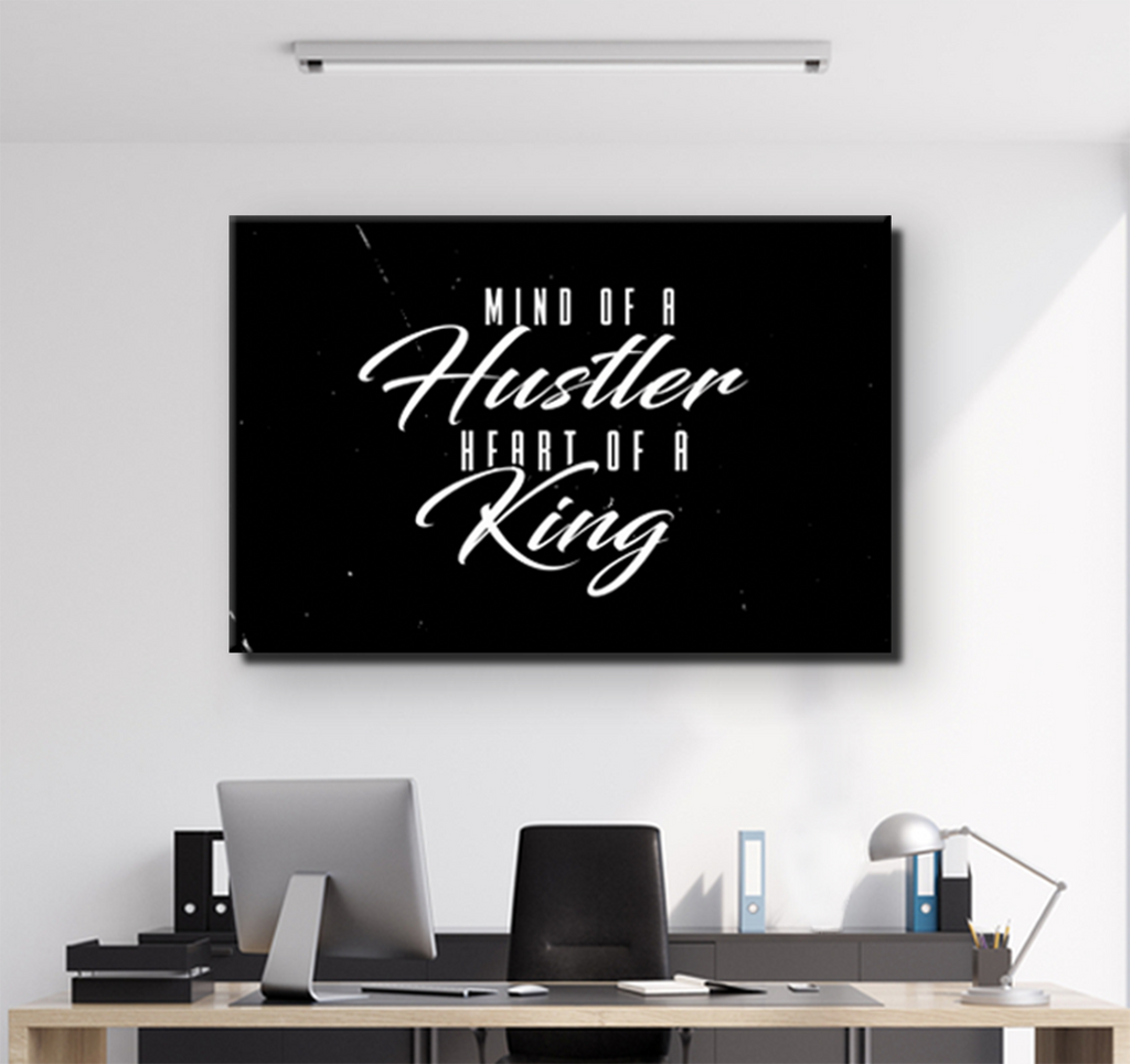 Mind of A Hustler Canvas