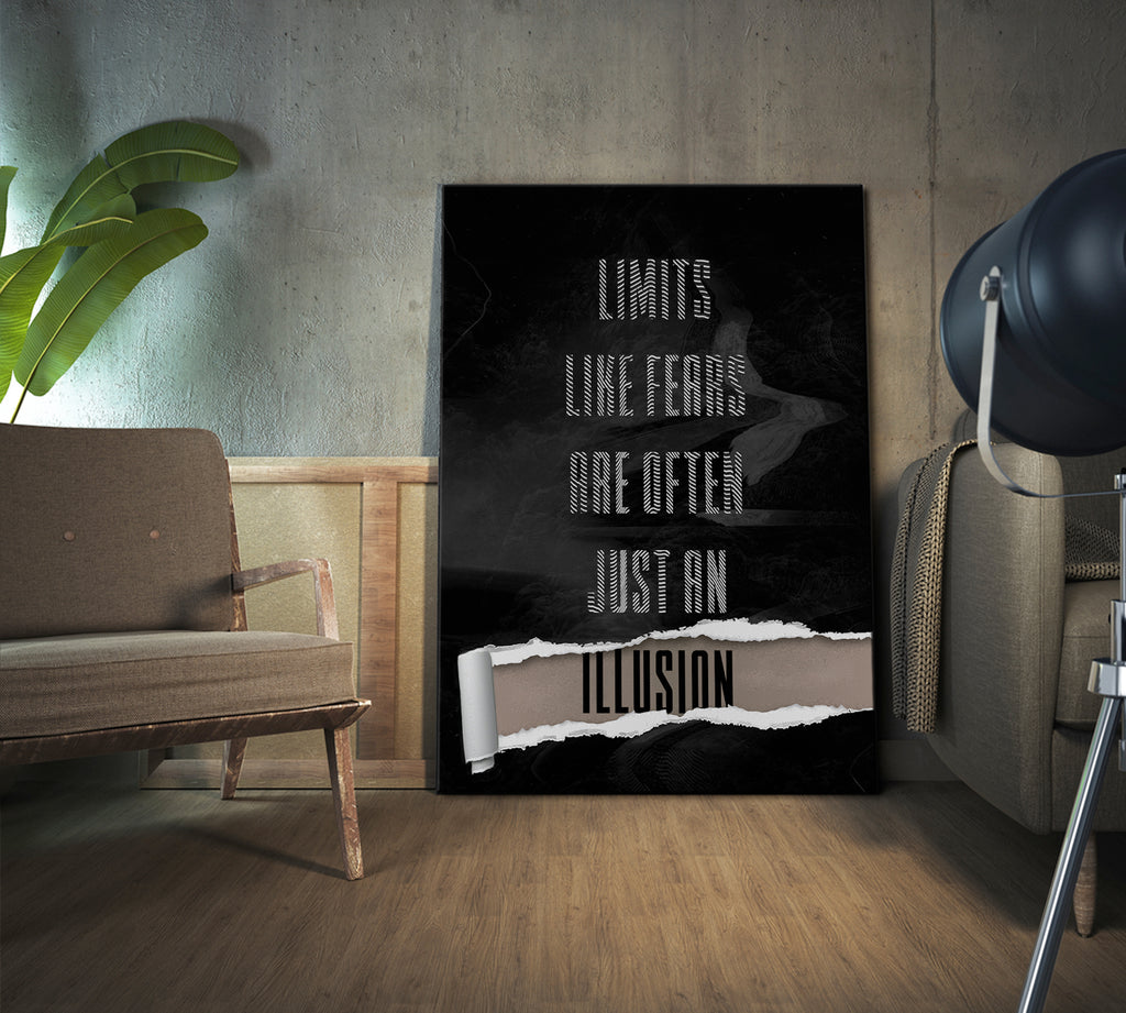 Just An Illusion Stretched Canvas