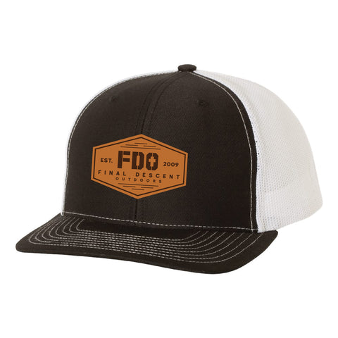 FDO Leather Patch Hat