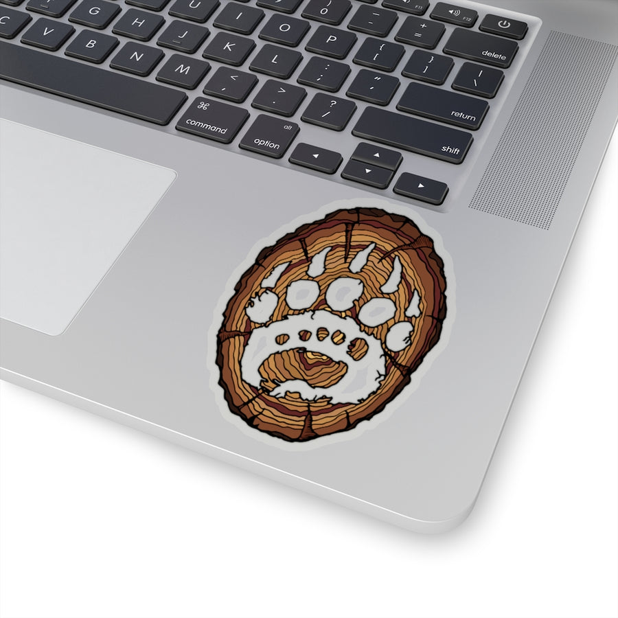'Against the Grain' Sticker
