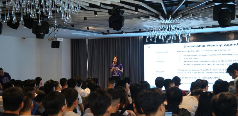 DreamShip Meetups in Vietnam. In partnerships with Google, PayPal & PageFly