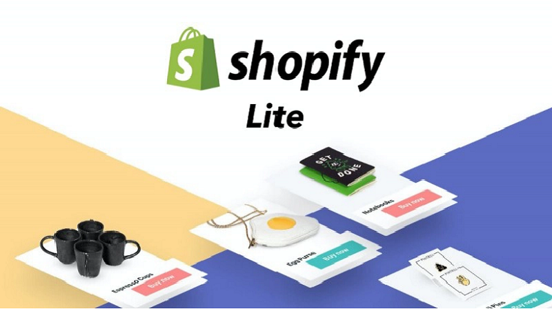 The Shopify buy button