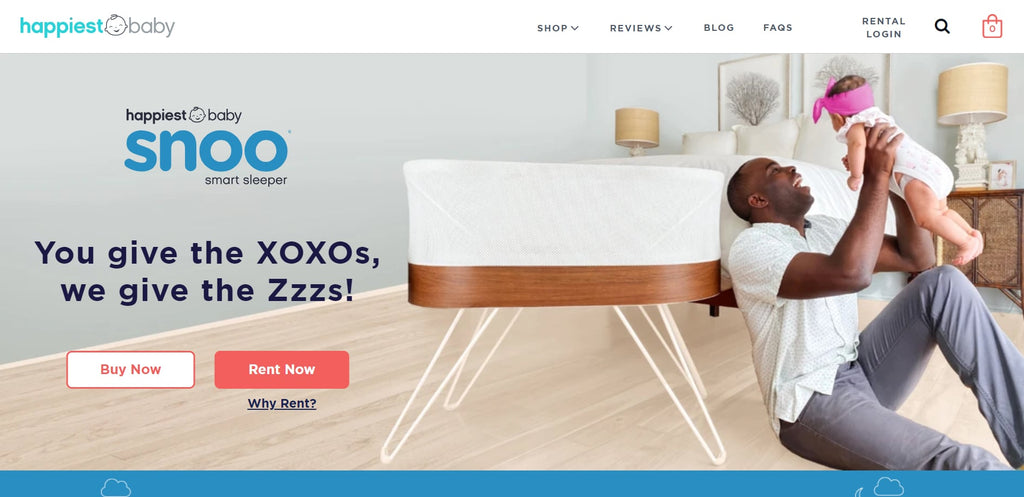 Happiest Baby's homepage