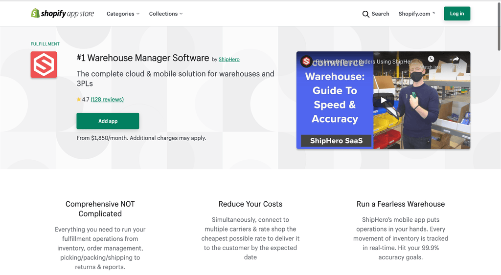 #1 Warehouse Manager Software