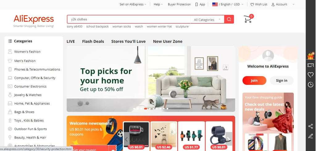 Get started with AliExpress Dropshipping Center