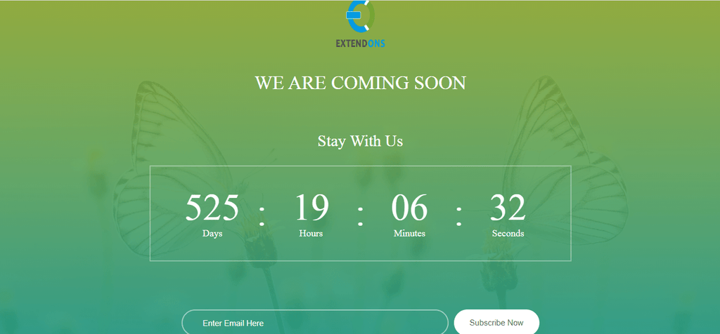 We are Coming Soon app
