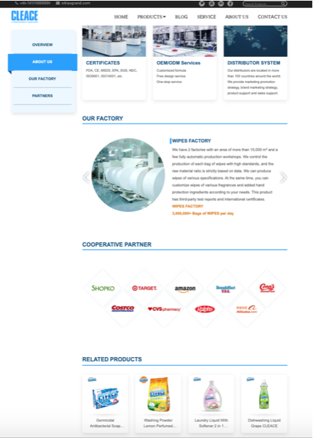 Contact Us in Cleace PPC landing page