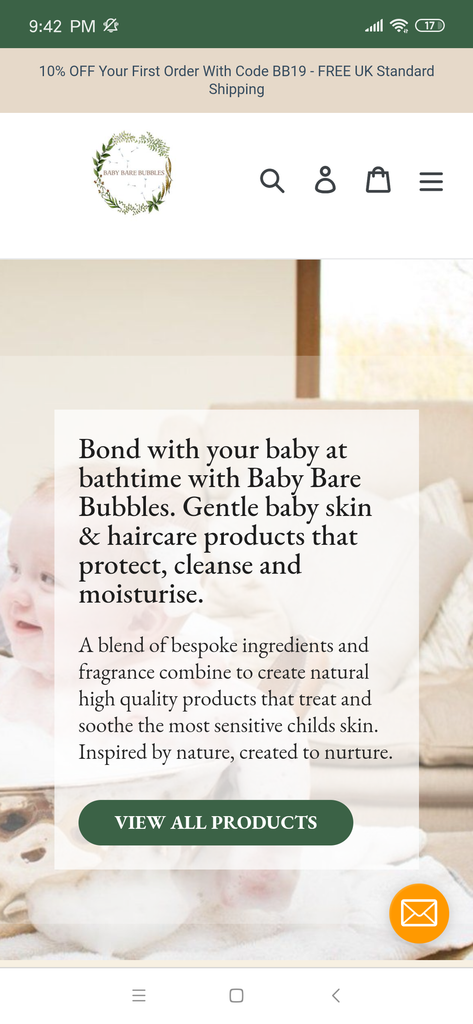 Baby Care Bubbles