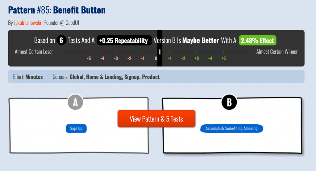 Add button for Landing Page Email Capture