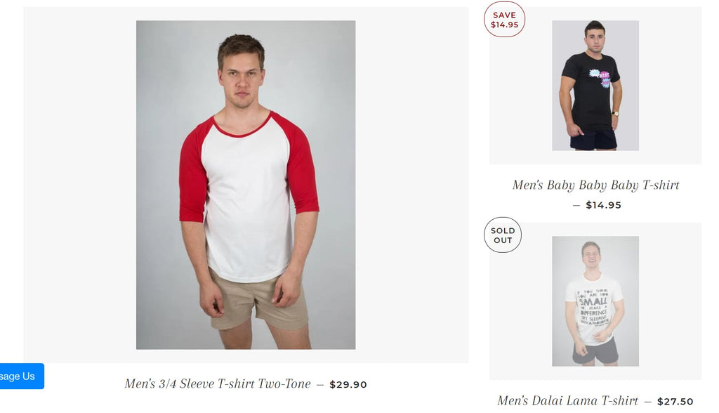 best online t-shirt store on Shopify