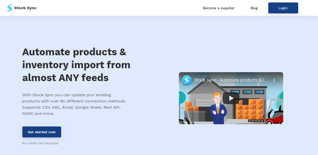 Stock Sync shopify inventory management
