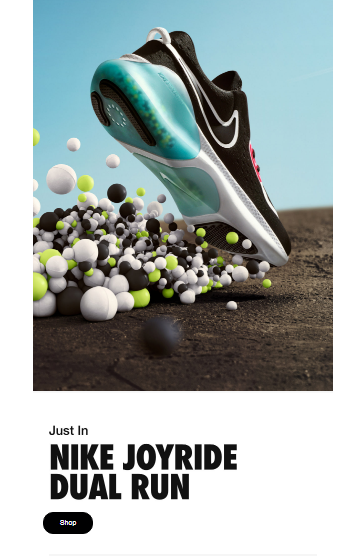 Nike email marketing