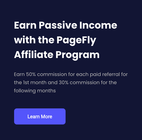 PageFly Affiliate