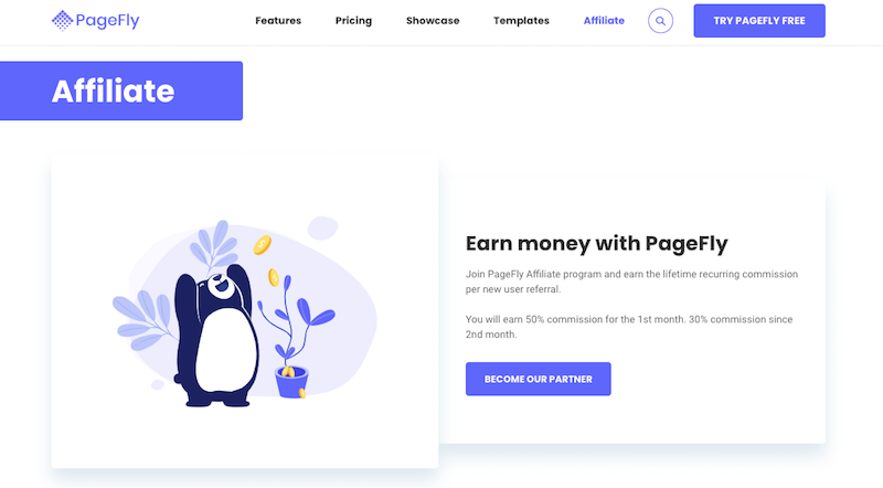 PageFly Affiliate Program