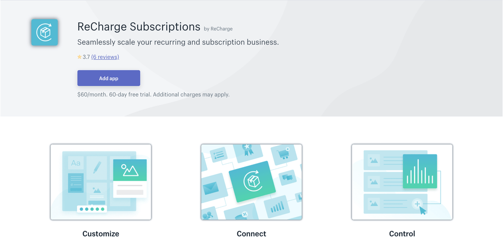 ReCharge Subscription