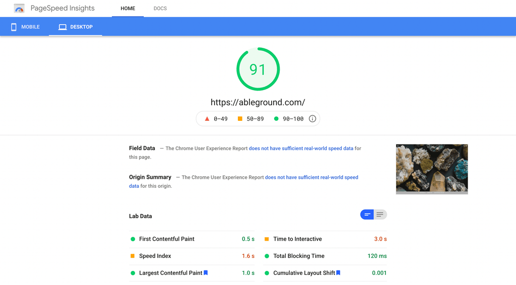 boundless-pagespeed-store
