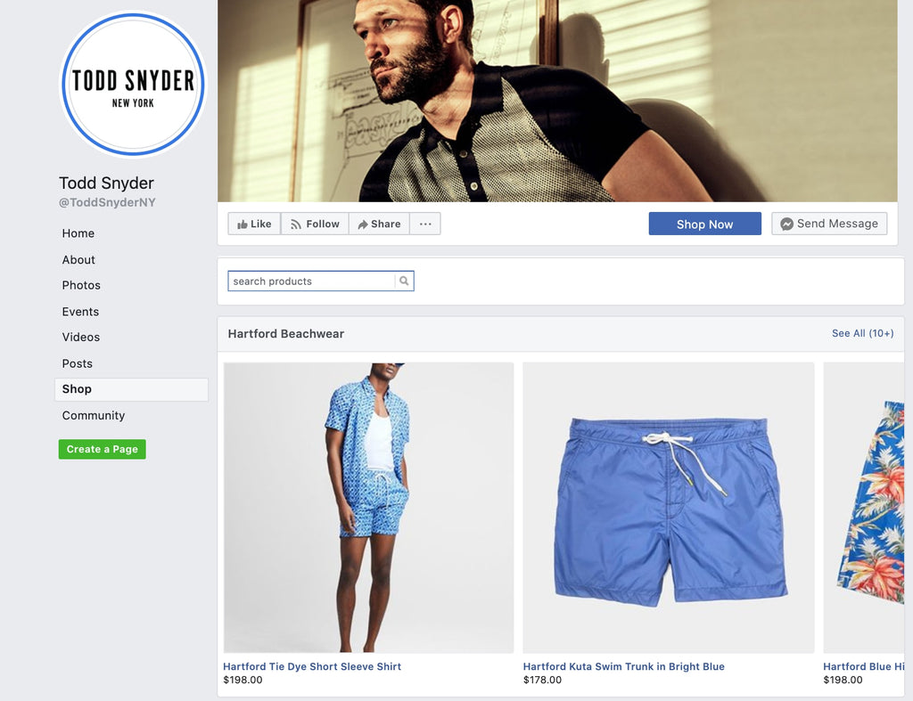 Create Shopify Store on Facebook