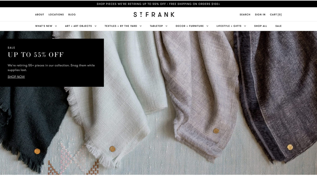 St. Frank Shopify General Store