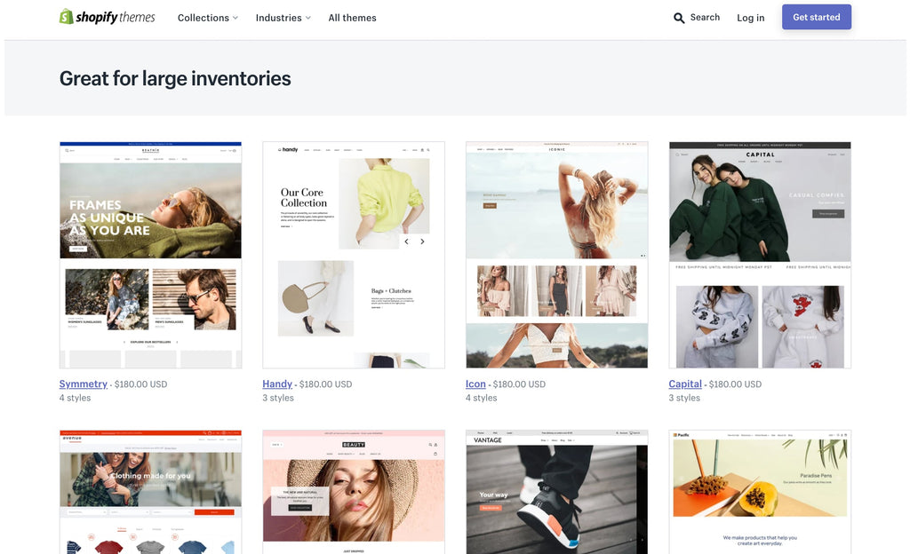 themes for great inventories