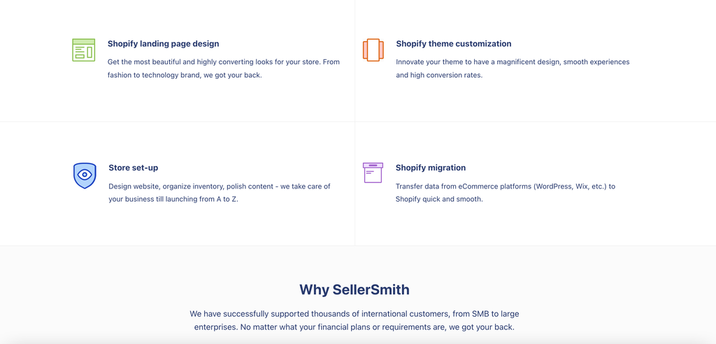sellersmith services
