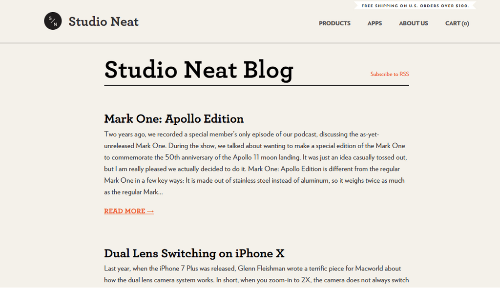 studio neat shopify blog