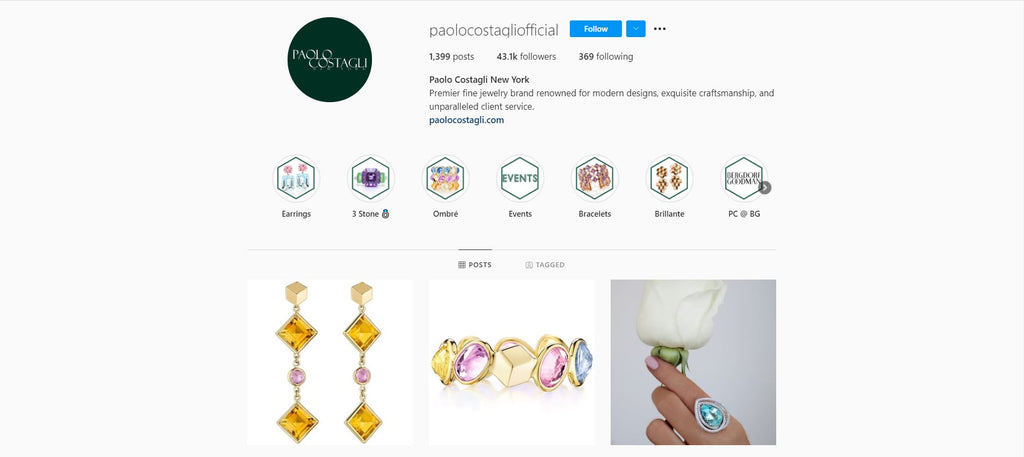 Paolo Costagli has a quite larger number of customers who follow them on Instagram